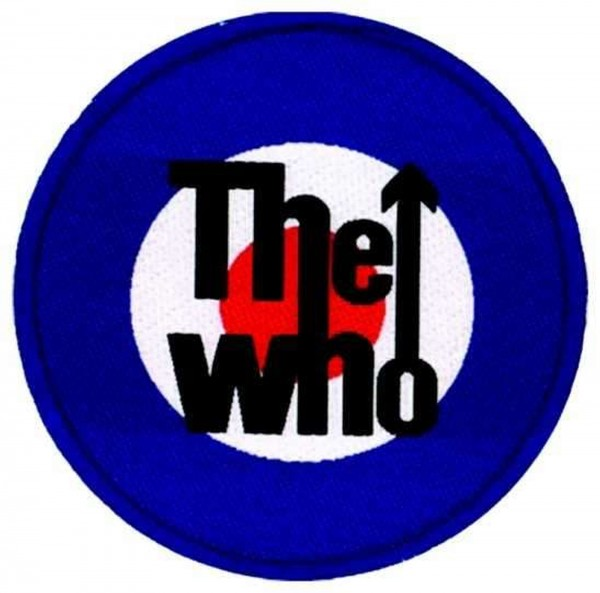 THE WHO - Target Patch Aufnäher