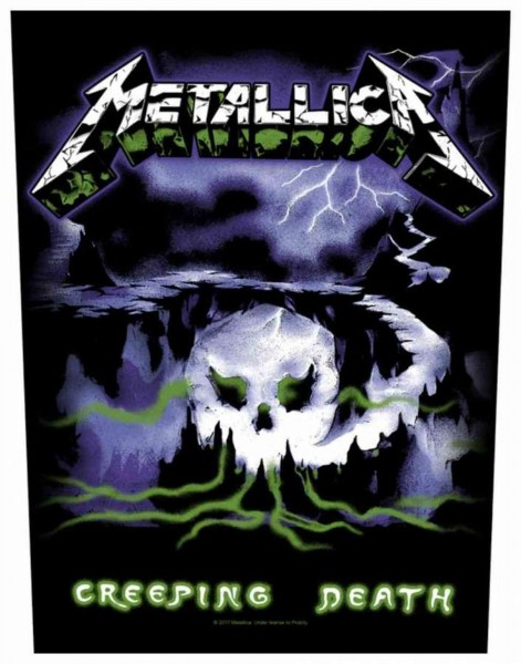 METALLICA - Creeping Death Backpatch Rückenaufnäher