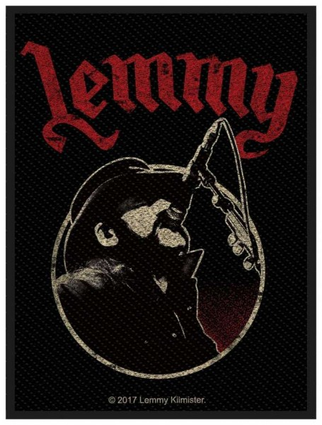 MOTÖRHEAD - Lemmy Microphone Patch Aufnäher