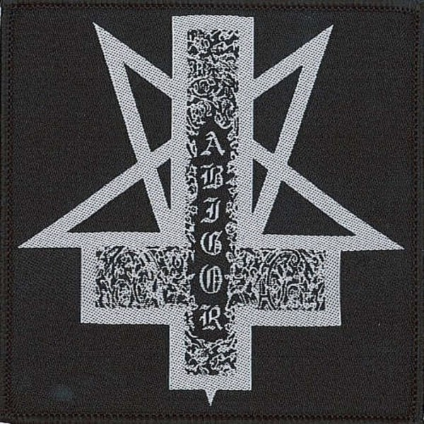 ABIGOR - Cross Logo Patch Aufnäher