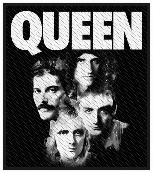 QUEEN - Faces Patch Aufnäher