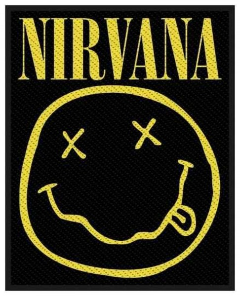 NIRVANA - Smiley Patch Aufnäher