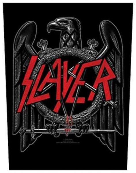 SLAYER - Black Eagle Backpatch Rückenaufnäher