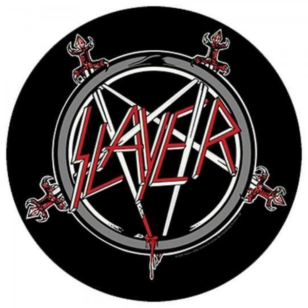 SLAYER - Show No Mercy Backpatch Rückenaufnäher