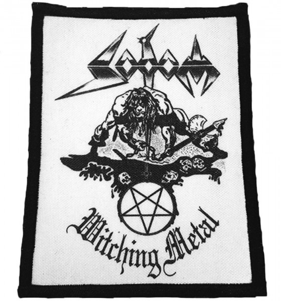 SODOM - Witching Metal Patch Aufnäher