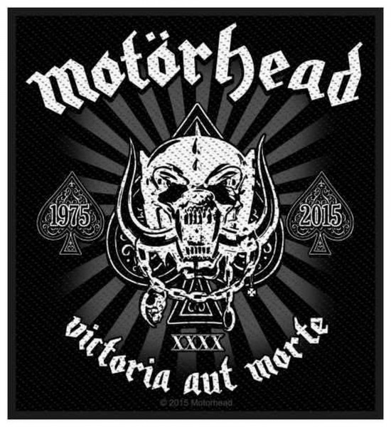 MOTÖRHEAD - Victoria Aut Morte Patch Aufnäher