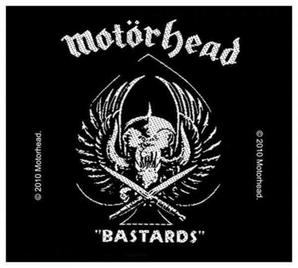 MOTÖRHEAD - Bastards Patch Aufnäher