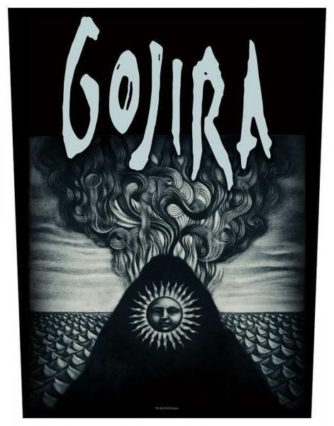GOJIRA - Magma Backpatch Rückenaufnäher