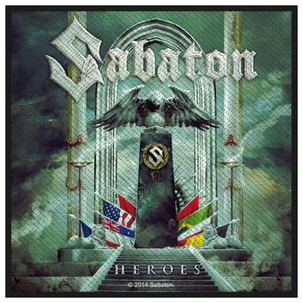 SABATON - Heroes Patch Aufnäher