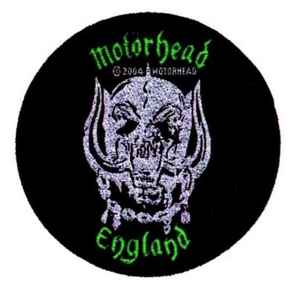 MOTÖRHEAD - England green Patch Aufnäher