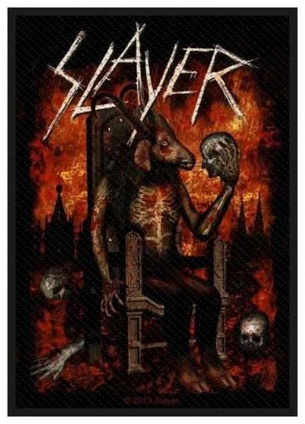 SLAYER - Devil On Throne Patch Aufnäher