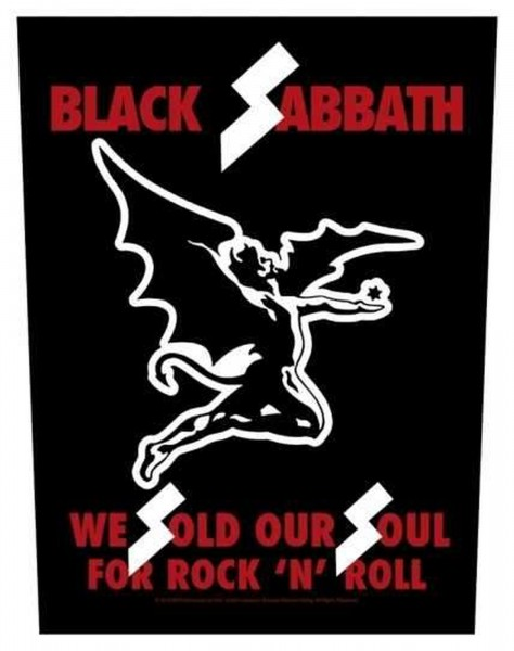 BLACK SABBATH - We Sold Our Soul Backpatch Rückenaufnäher