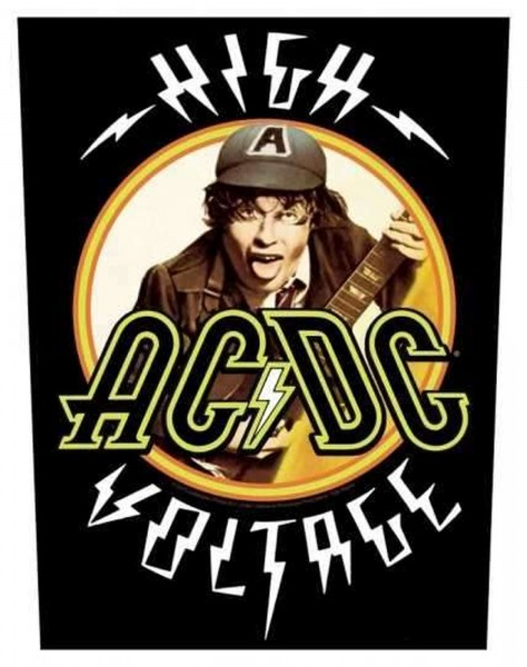 AC/DC - High Voltage Backpatch Rückenaufnäher