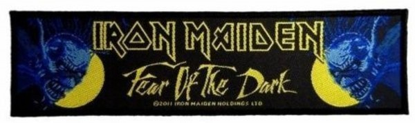 IRON MAIDEN - Fear Of The Dark Patch Aufnäher Superstrip