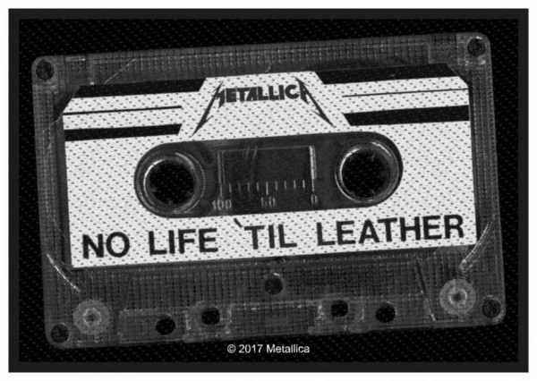 METALLICA - No Life Til´ Leather Patch Aufnäher