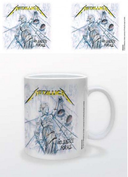 METALLICA - and justice for all Tasse