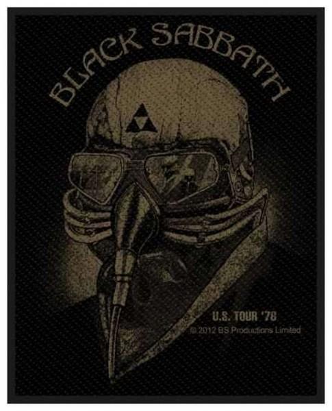 BLACK SABBATH - US Tour 78 Patch Aufnäher