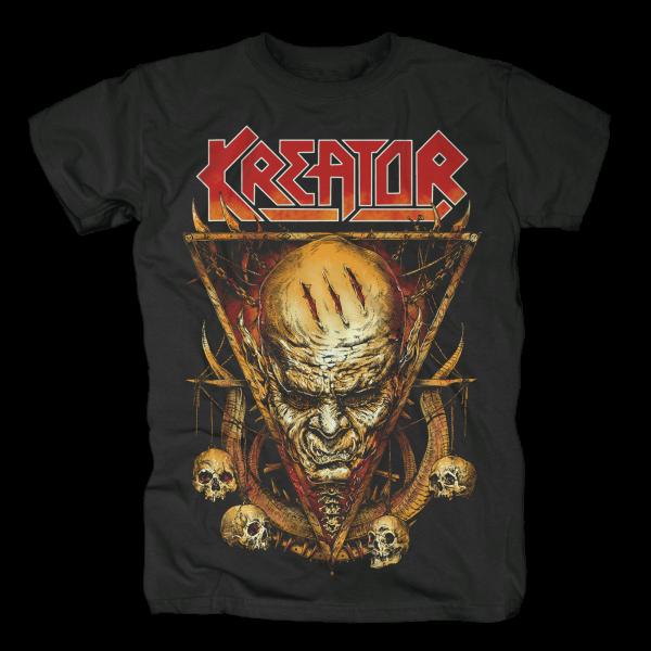 KREATOR - Face Horns T-Shirt