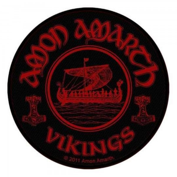 AMON AMARTH - Vikings Circular Patch Aufnäher