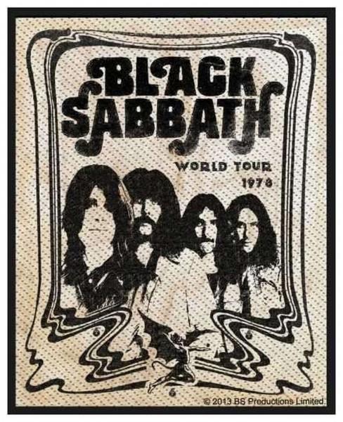 BLACK SABBATH - Band Patch Aufnäher