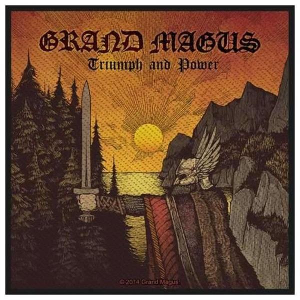 GRAND MAGUS - Triumph & Power Patch Aufnäher