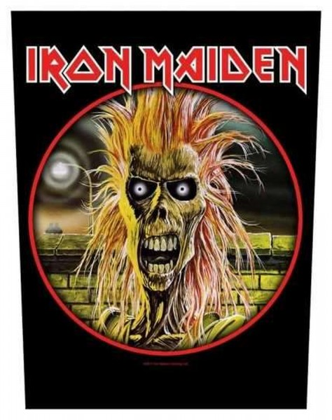 IRON MAIDEN - Iron Maiden Backpatch Rückenaufnäher