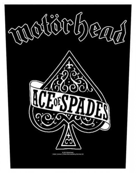 MOTÖRHEAD - Ace Of Spades Backpatch Rückenaufnäher