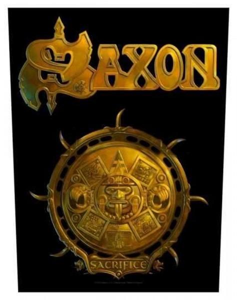 SAXON - Sacrifice Backpatch Rückenaufnäher