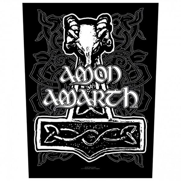 AMON AMARTH - Hammer Backpatch Rückenaufnäher