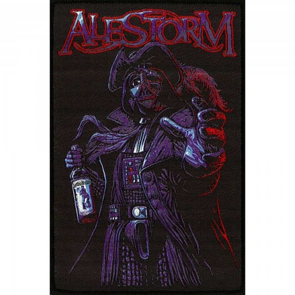 ALESTORM - Rum Pirate Patch Aufnäher