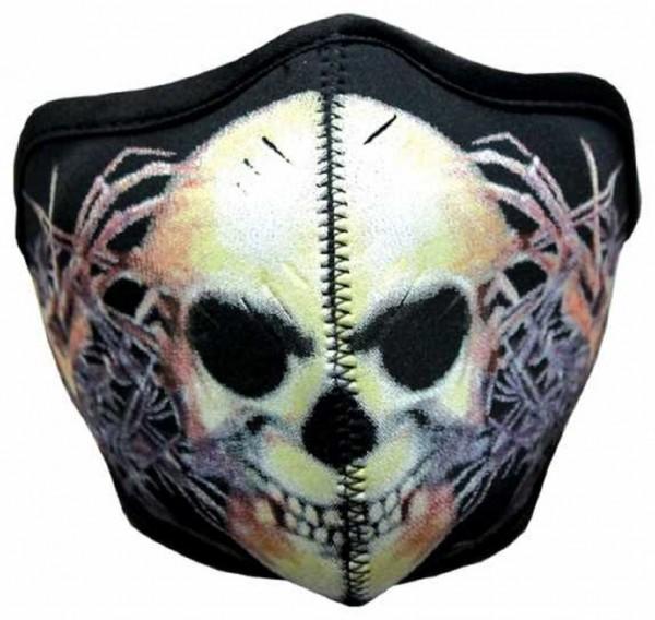 MASKE - Motorrad Gesichtsmaske Mundschutz Gesichtsschutz Sewed Skull