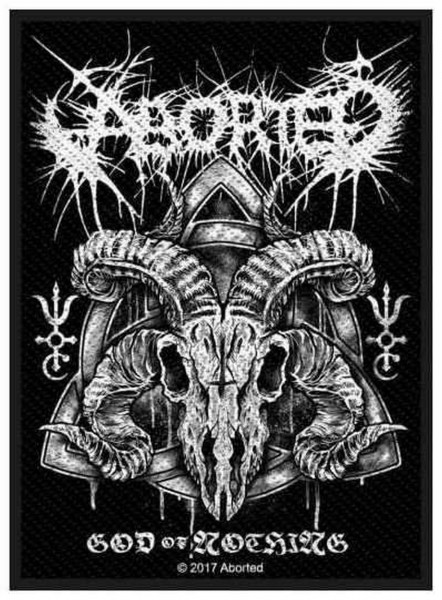 ABORTED - God Of Nothing Patch Aufnäher
