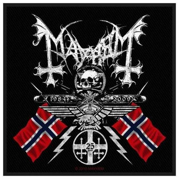 MAYHEM - Coat Of Arms Patch Aufnäher