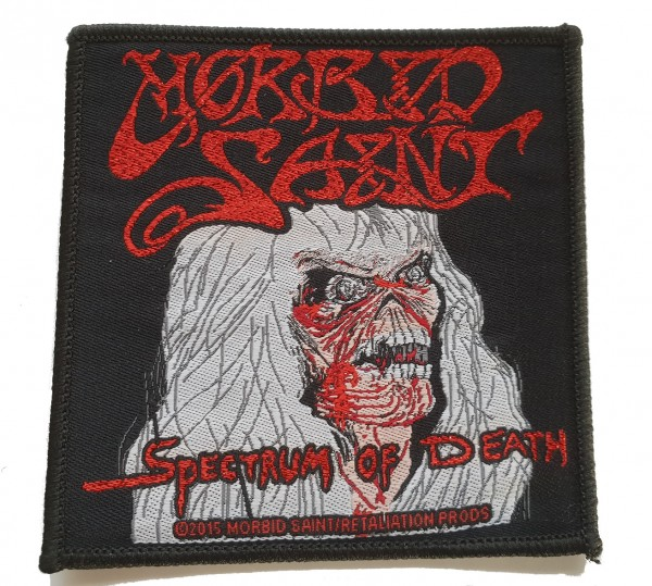 MORBID SAINT - Spectrum Of Death Patch Aufnäher