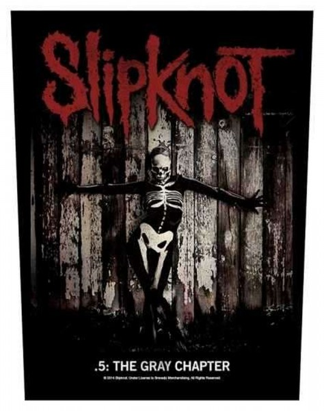 SLIPKNOT - The Gray Chapter Backpatch Rückenaufnäher