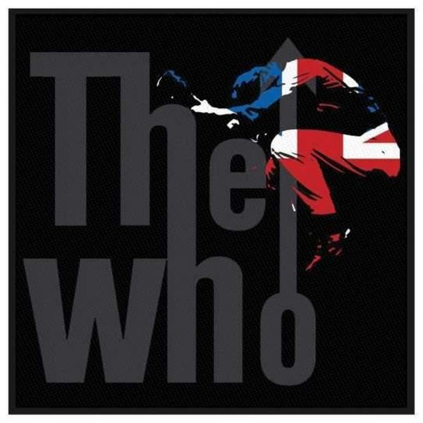THE WHO - Pete Silhouette Patch Aufnäher