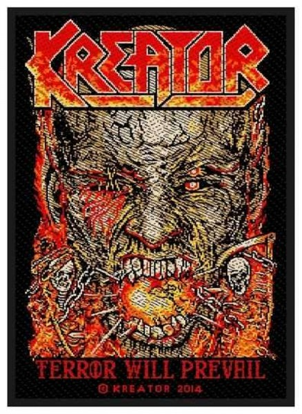 KREATOR - Terror Will Prevail Patch Aufnäher