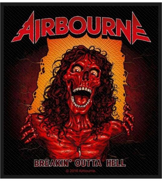 AIRBOURNE - Breakin´ Outta Hell Patch Aufnäher