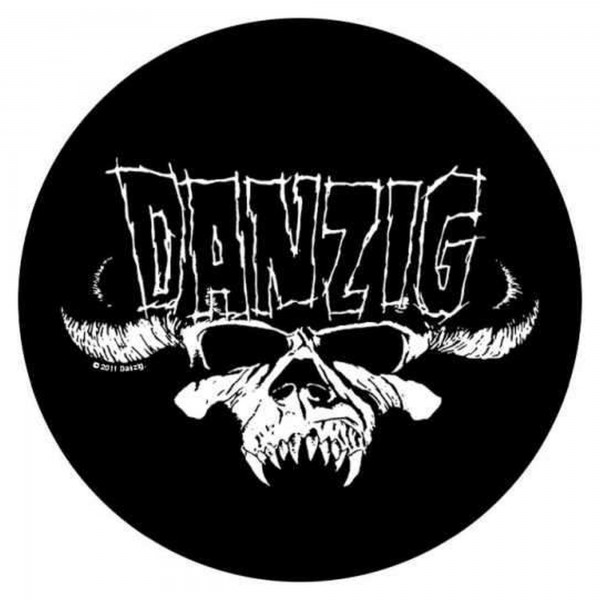 DANZIG - Classic Skull Backpatch Rückenaufnäher