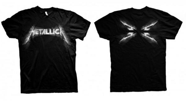 METALLICA - Spiked Logo T-Shirt