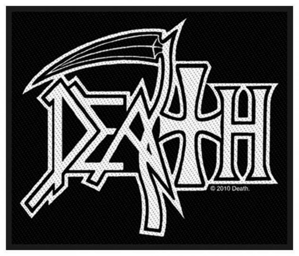 DEATH - Logo Patch Aufnäher