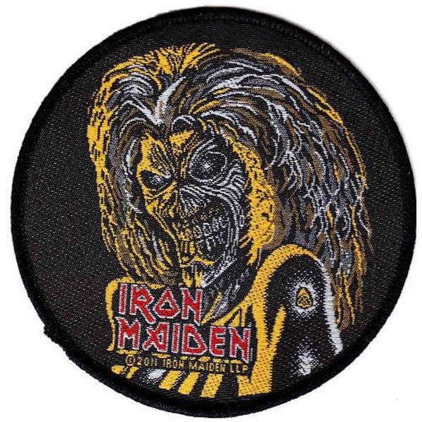 IRON MAIDEN - Killers Face Patch Aufnäher
