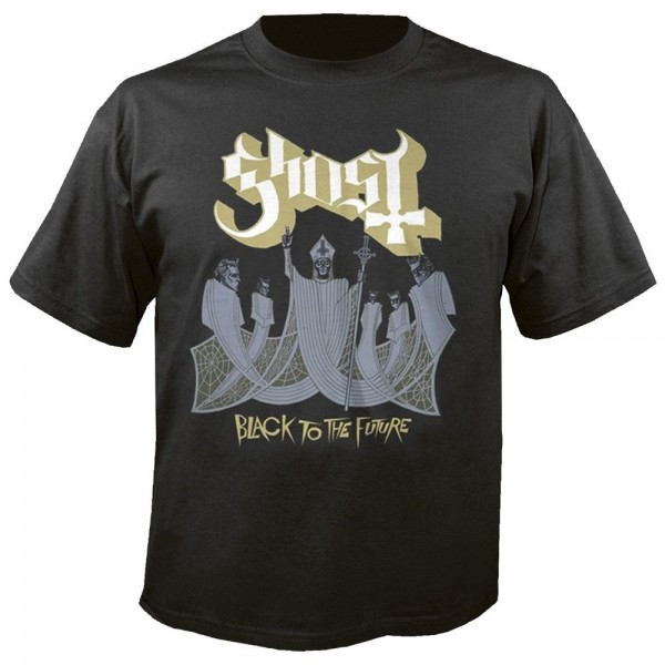 GHOST - Black to the future T-Shirt