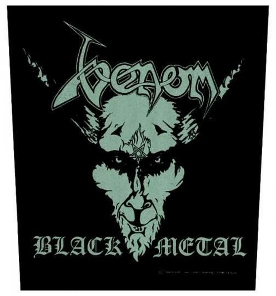 VENOM - Black Metal Backpatch Rückenaufnäher