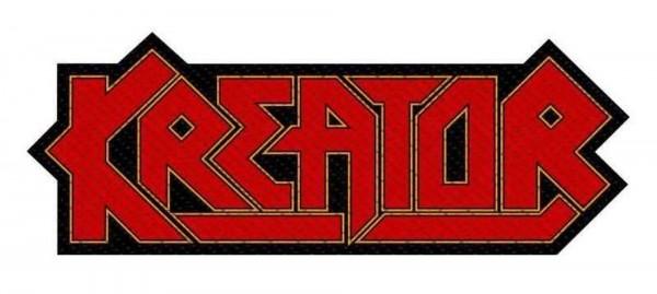 KREATOR - logo cut Patch Aufnäher