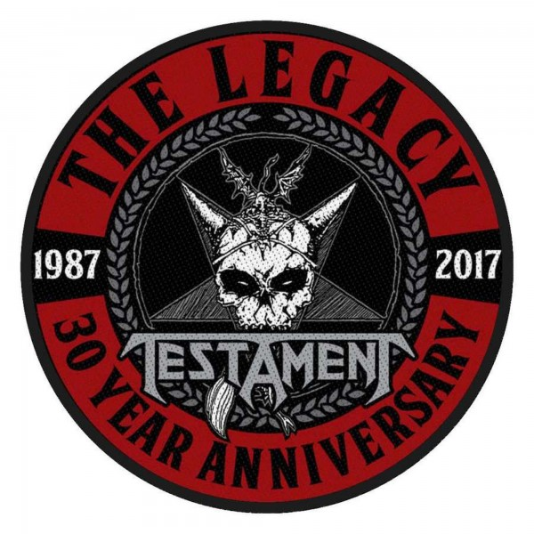 TESTAMENT - The Legacy Patch Aufnäher