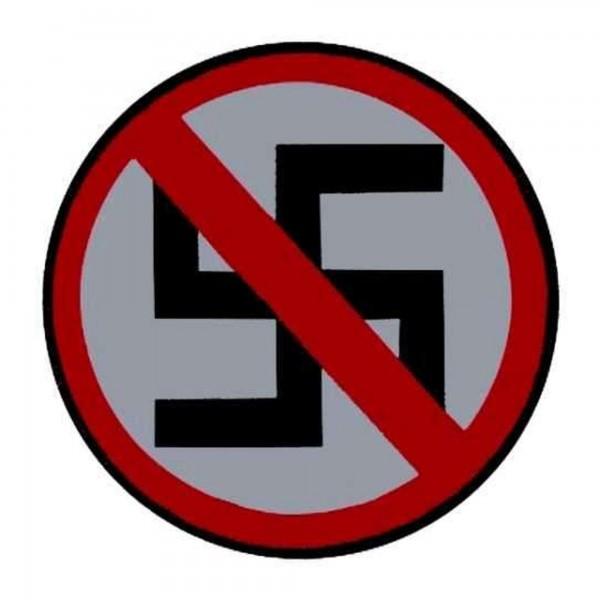 GEGEN NAZIS - Anti Patch Aufnäher