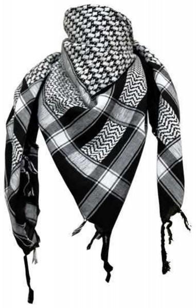 PLO Tuch Palästinensertuch - schwarz weiss