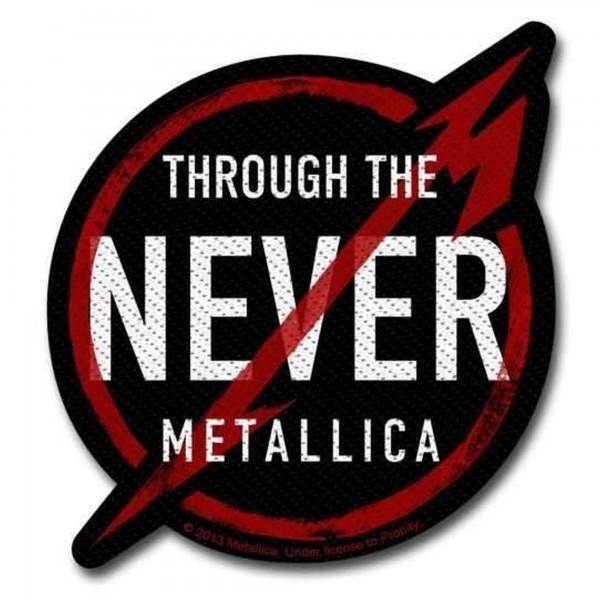 METALLICA - Through The Never Patch Aufnäher
