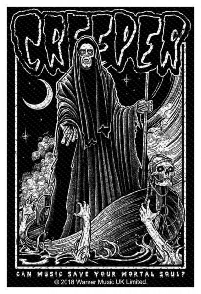 CREEPER - Mortal Soul Patch Aufnäher